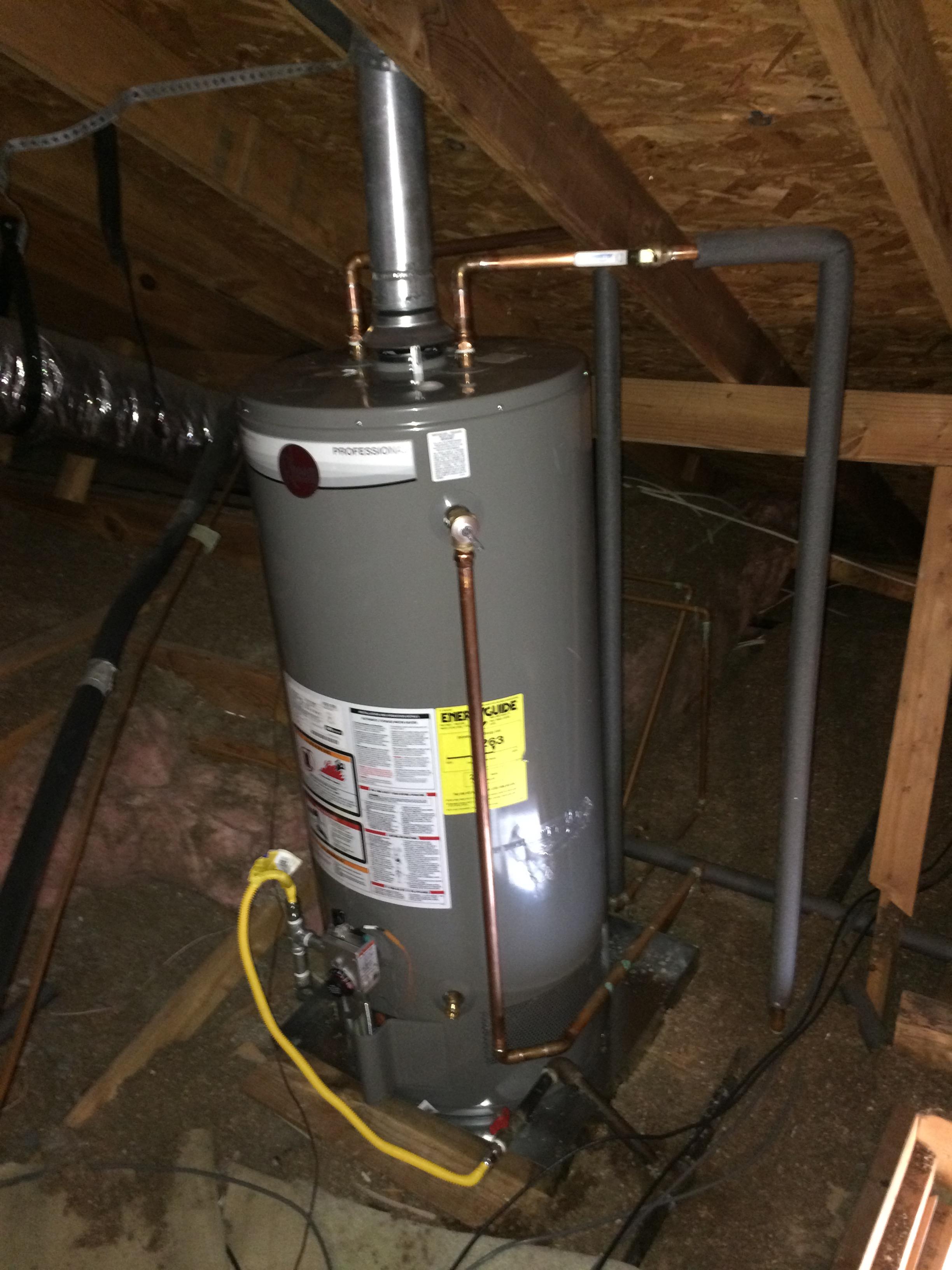Water heaters ctb plumbing for Water heater pipe